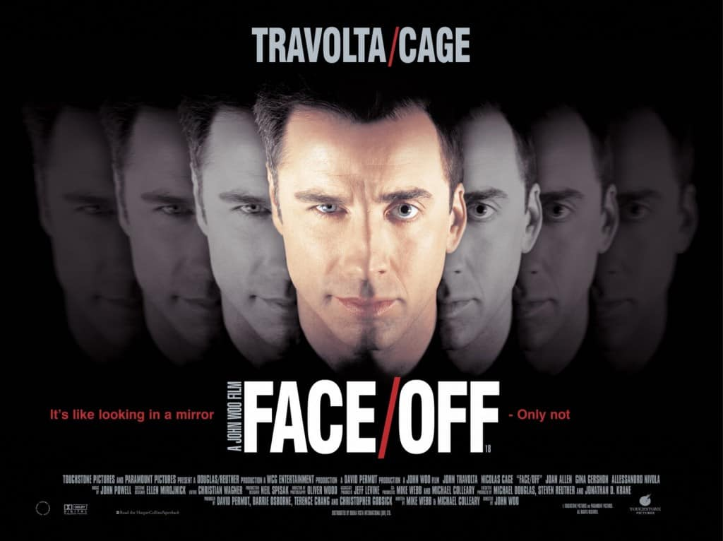Plakat for John Woos Face/Off