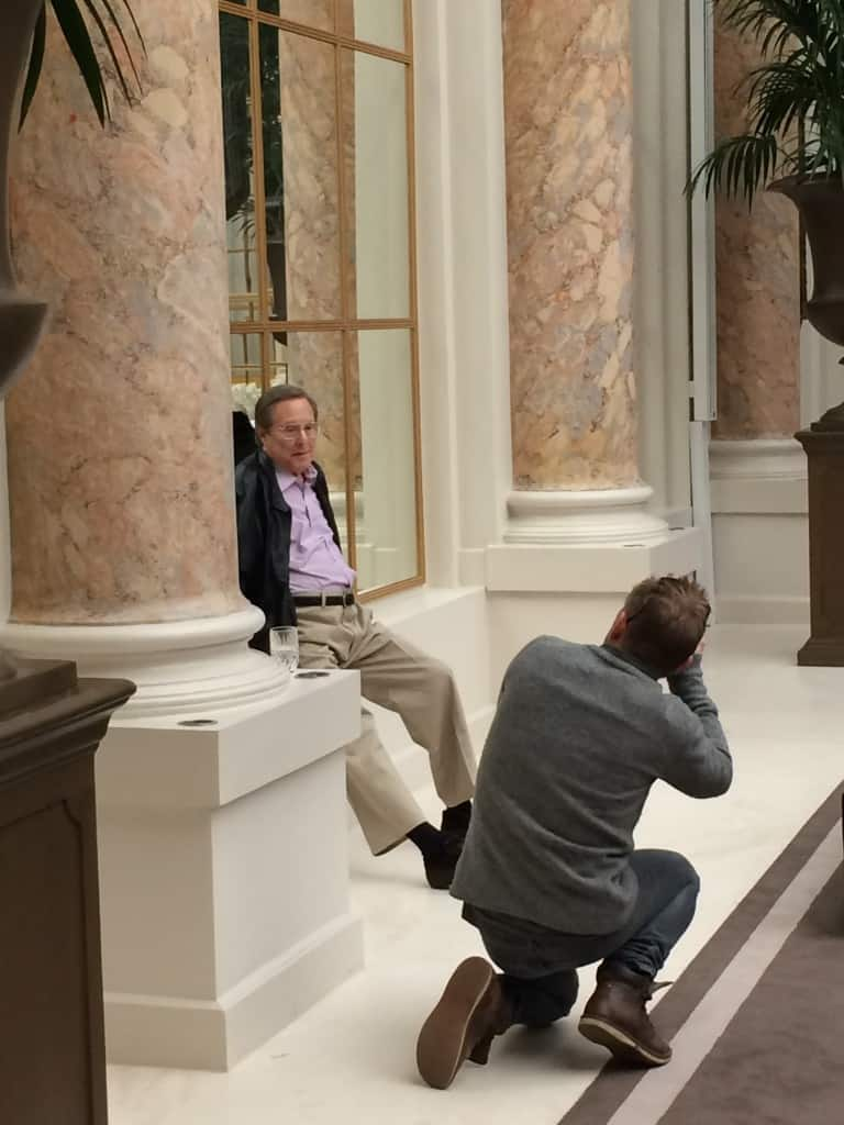 Informations Jakob Dall fotograferer William Friedkin på Hotel d'Angleterre