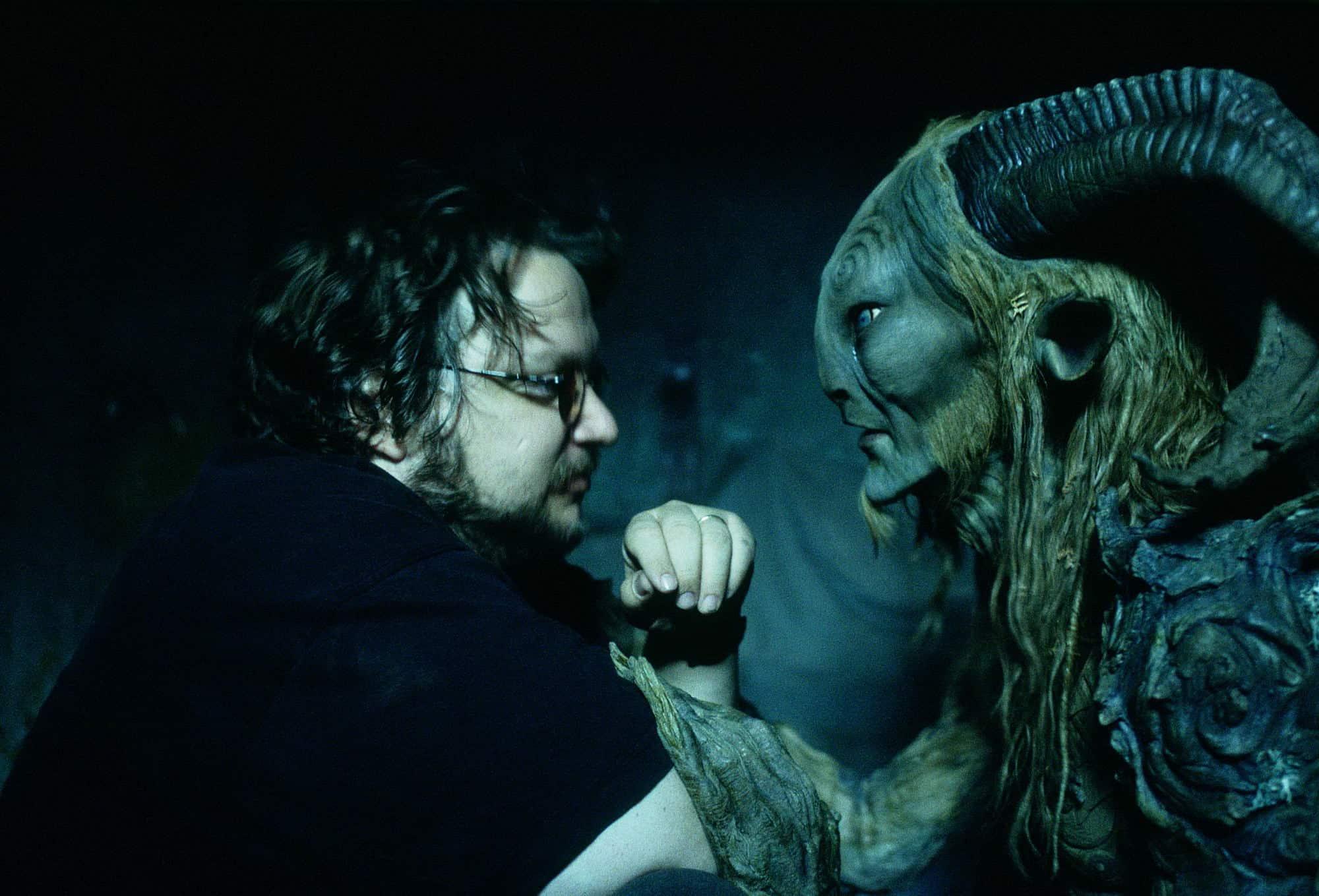 Guillermo del Toro med faunen fra Pans labyrint
